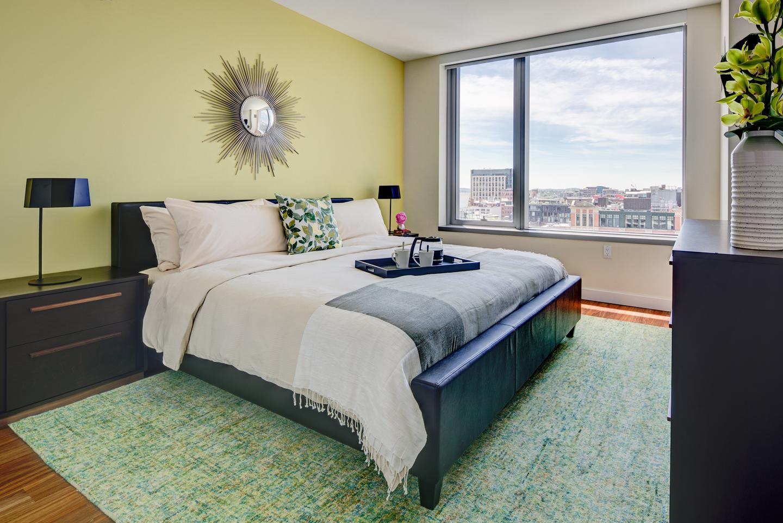 Bedroom at The Benjamin Serviced Apartments - Citybase Apartments
