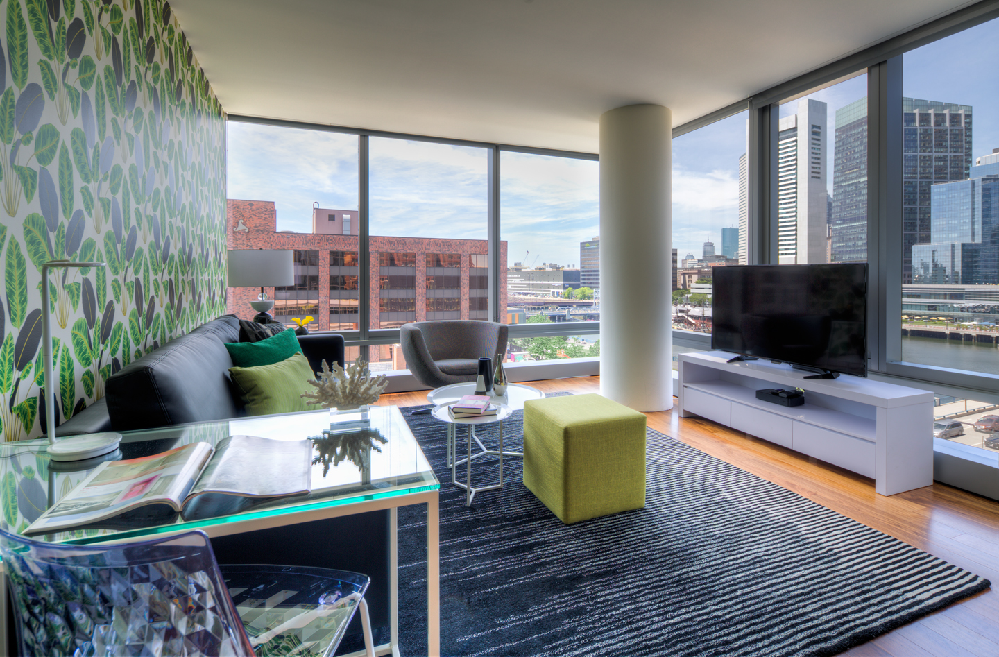 Lounge area at The Benjamin Serviced Apartments - Citybase Apartments