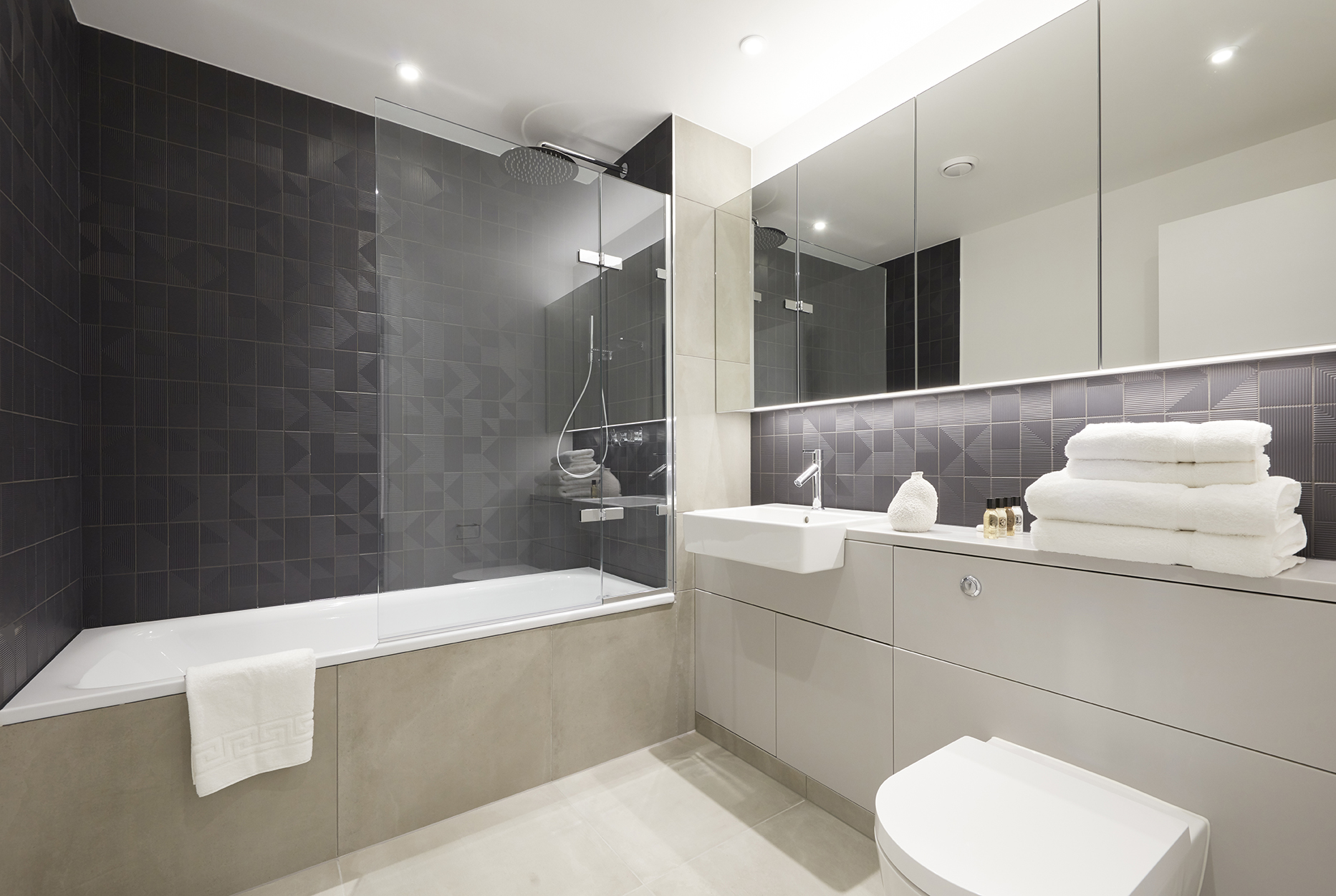 Bath at STAY Camden Serviced Apartments - Citybase Apartments