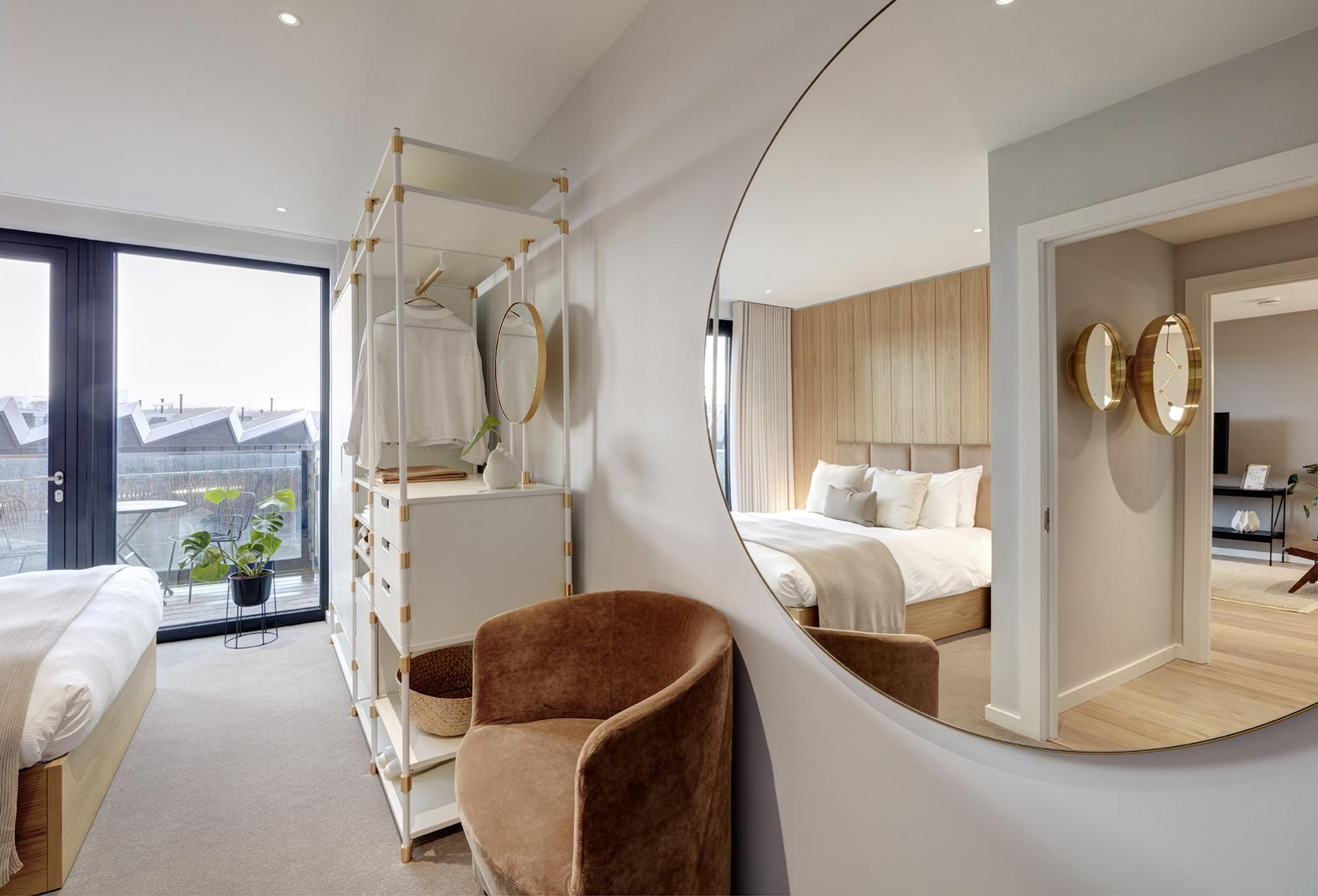 Mirror at STAY Camden Serviced Apartments, Camden, London - Citybase Apartments