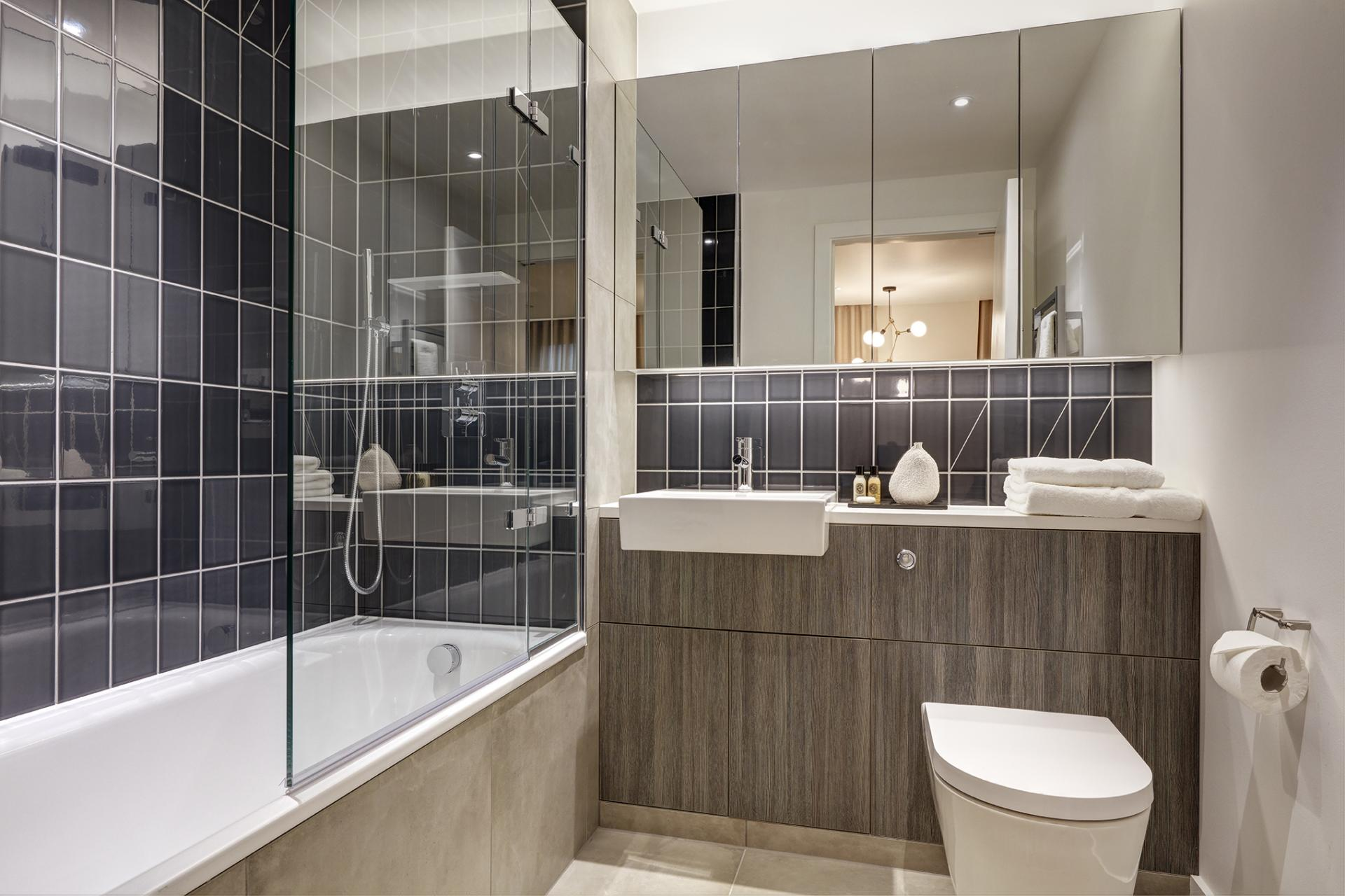 WC at STAY Camden Serviced Apartments, Camden, London - Citybase Apartments