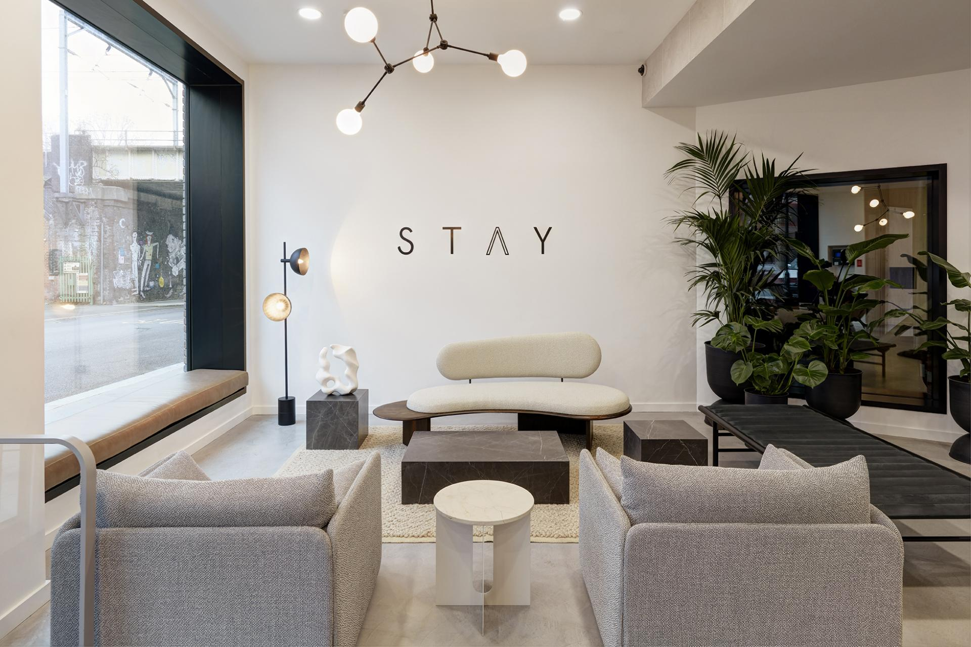 Residents lounge at STAY Camden Serviced Apartments, Camden, London - Citybase Apartments
