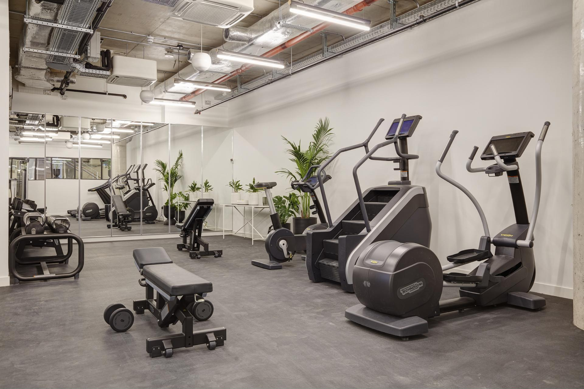 Gym at STAY Camden Serviced Apartments, Camden, London - Citybase Apartments