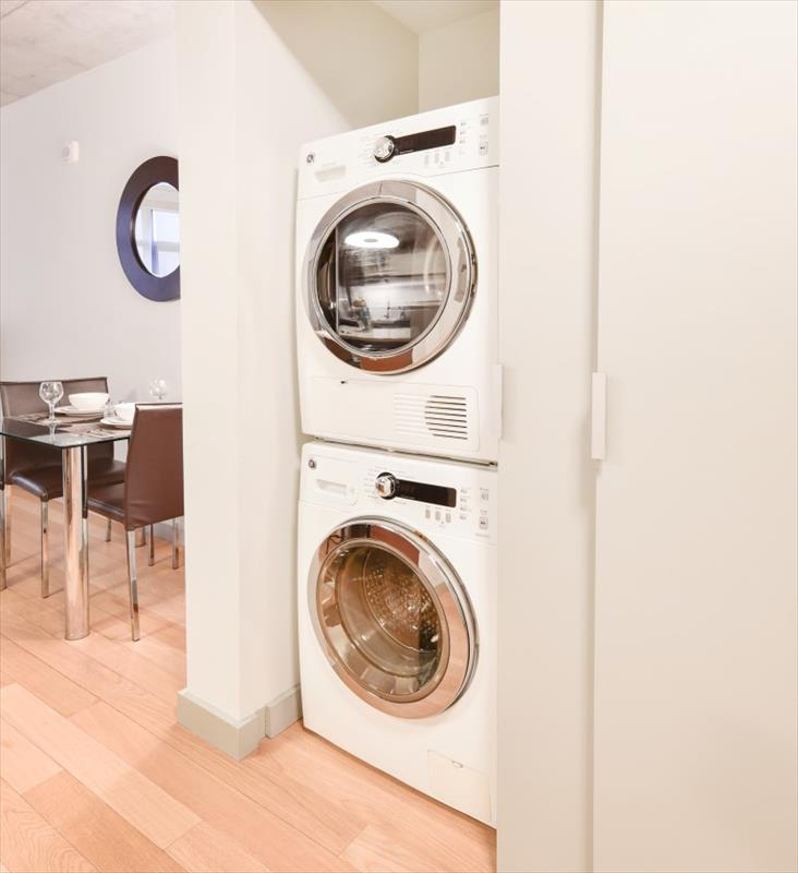 Laundry facilities at 315 on A Apartments - Citybase Apartments