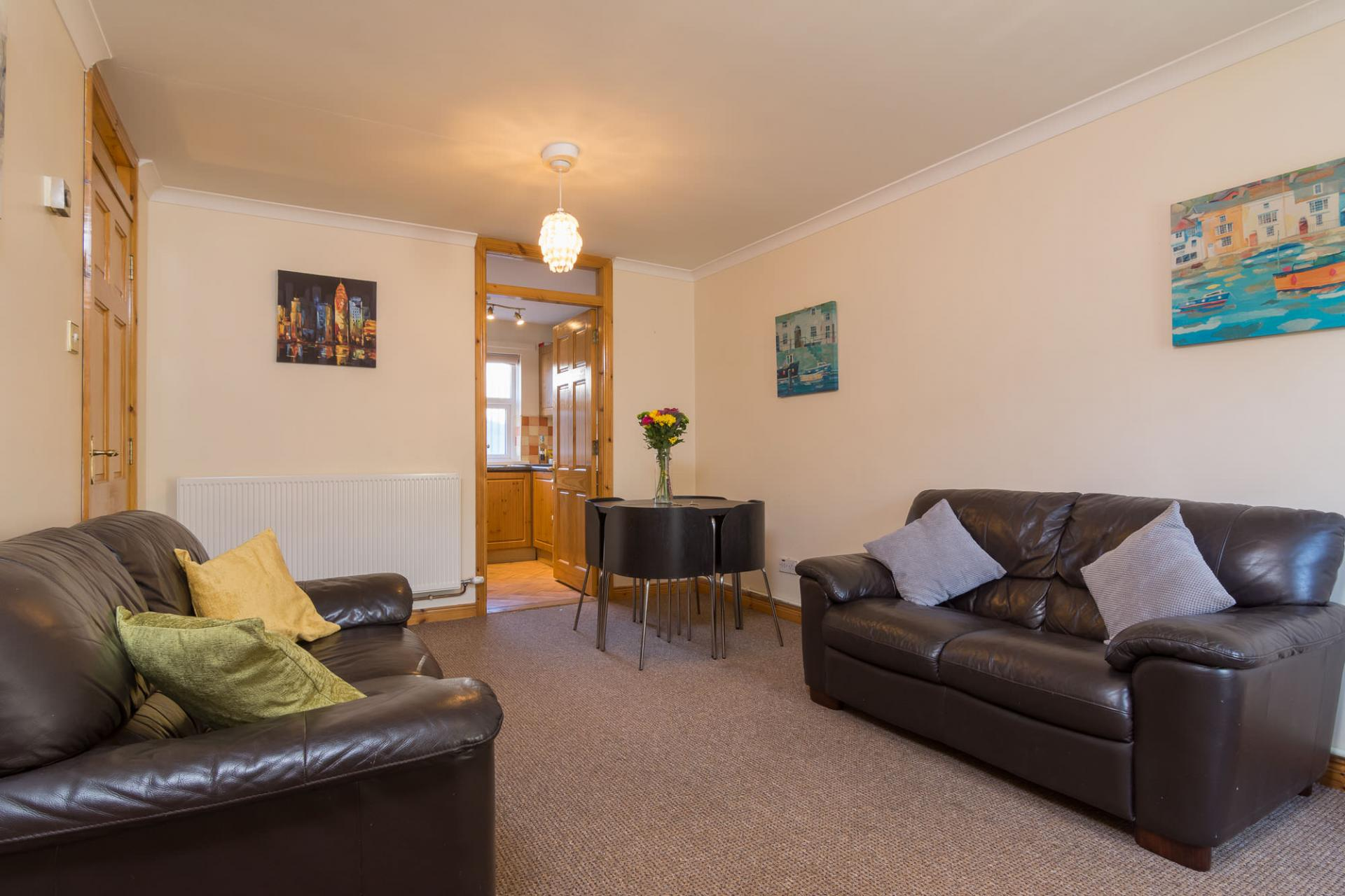 Sofas at Ashburne Place Apartment - Citybase Apartments