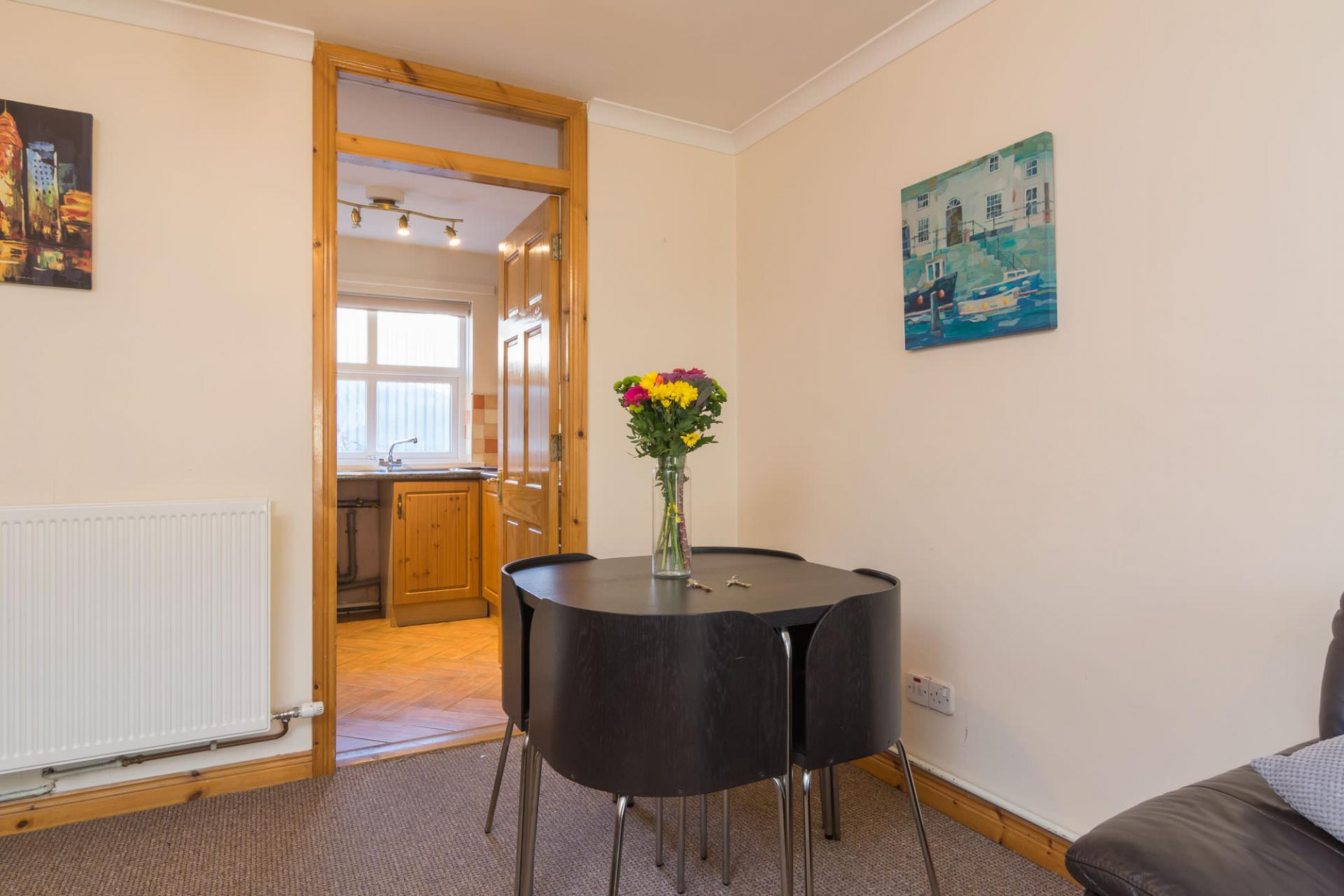 Dining area at Ashburne Place Apartment - Citybase Apartments