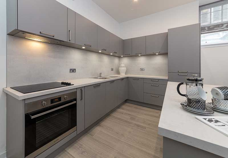 Kitchen at Candleriggs Court Apartments - Citybase Apartments