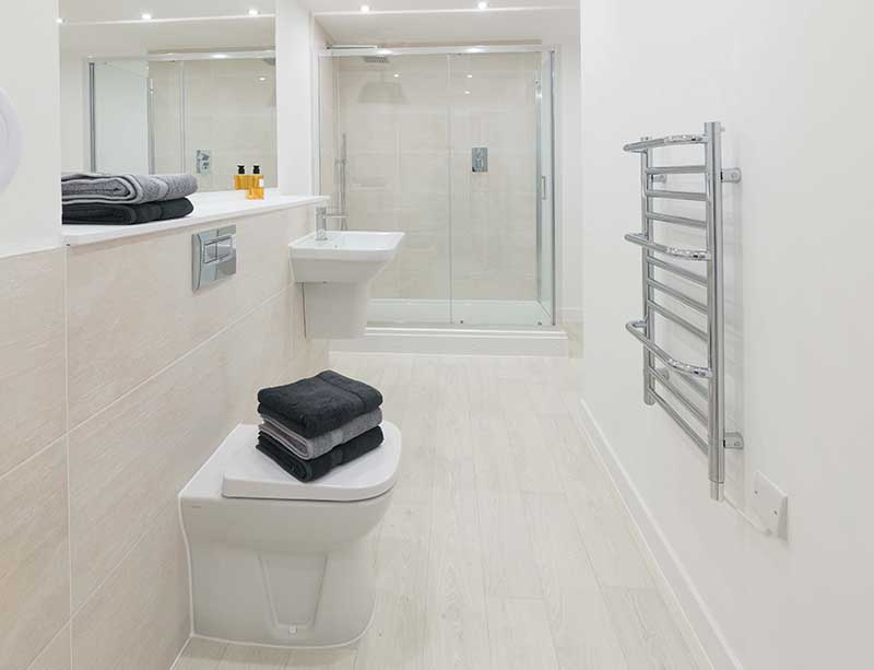 Bathroom at Candleriggs Court Apartments - Citybase Apartments