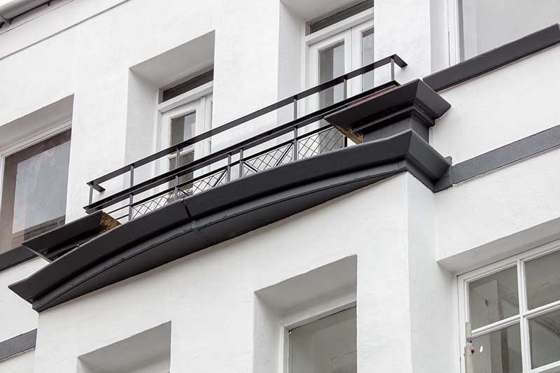 Balcony at Candleriggs Court Apartments - Citybase Apartments