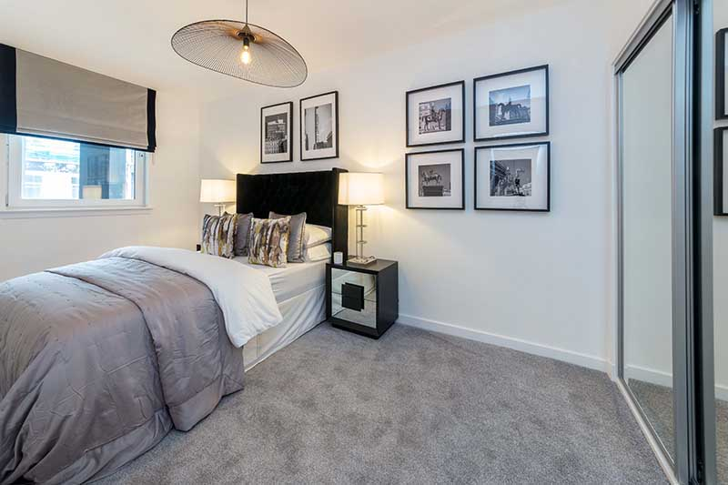 Bedroom at Candleriggs Court Apartments - Citybase Apartments