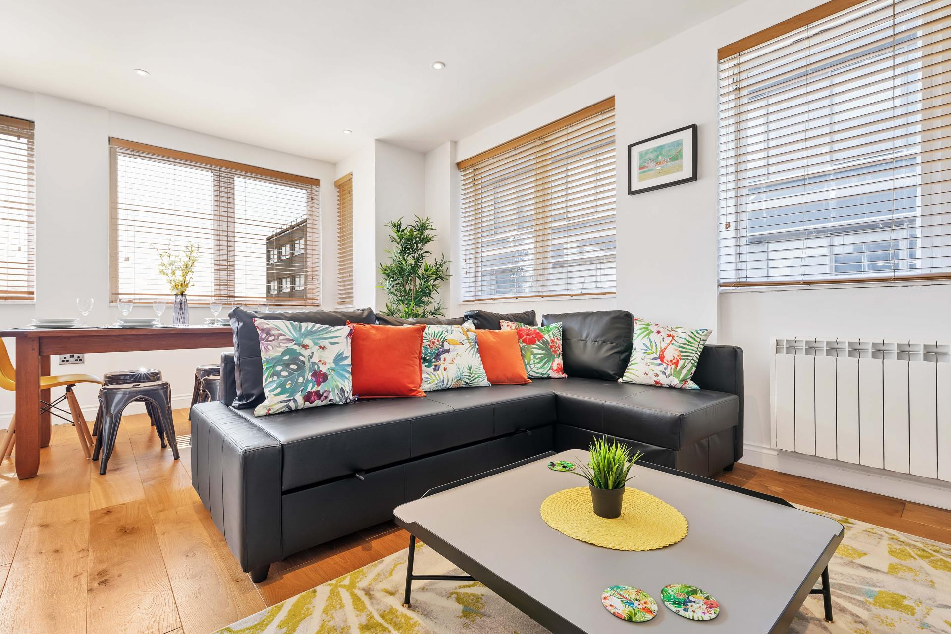 Sofa at Seaview Heights - Citybase Apartments