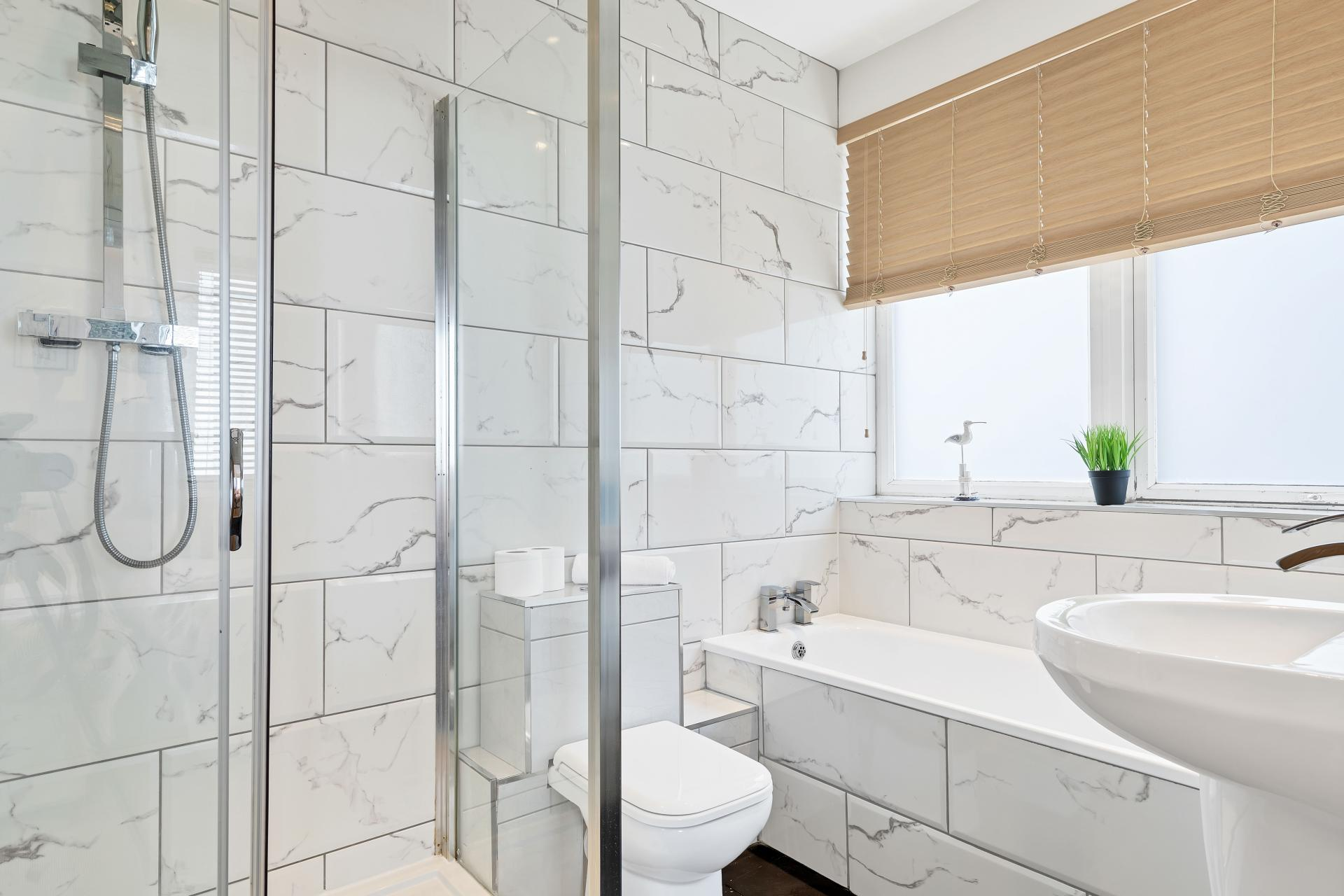 Shower at Seaview Heights - Citybase Apartments