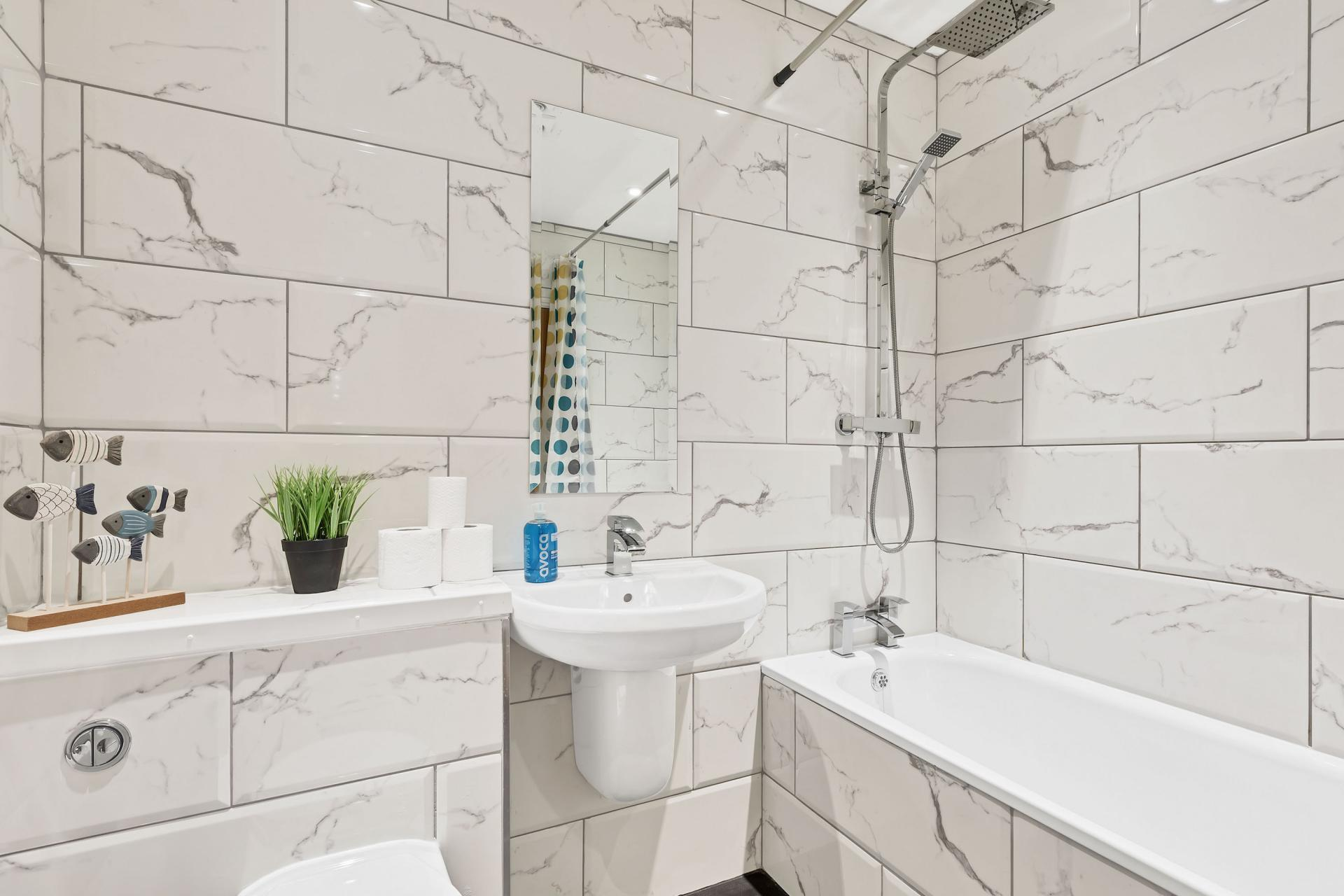 Bathroom at Seaview Heights - Citybase Apartments