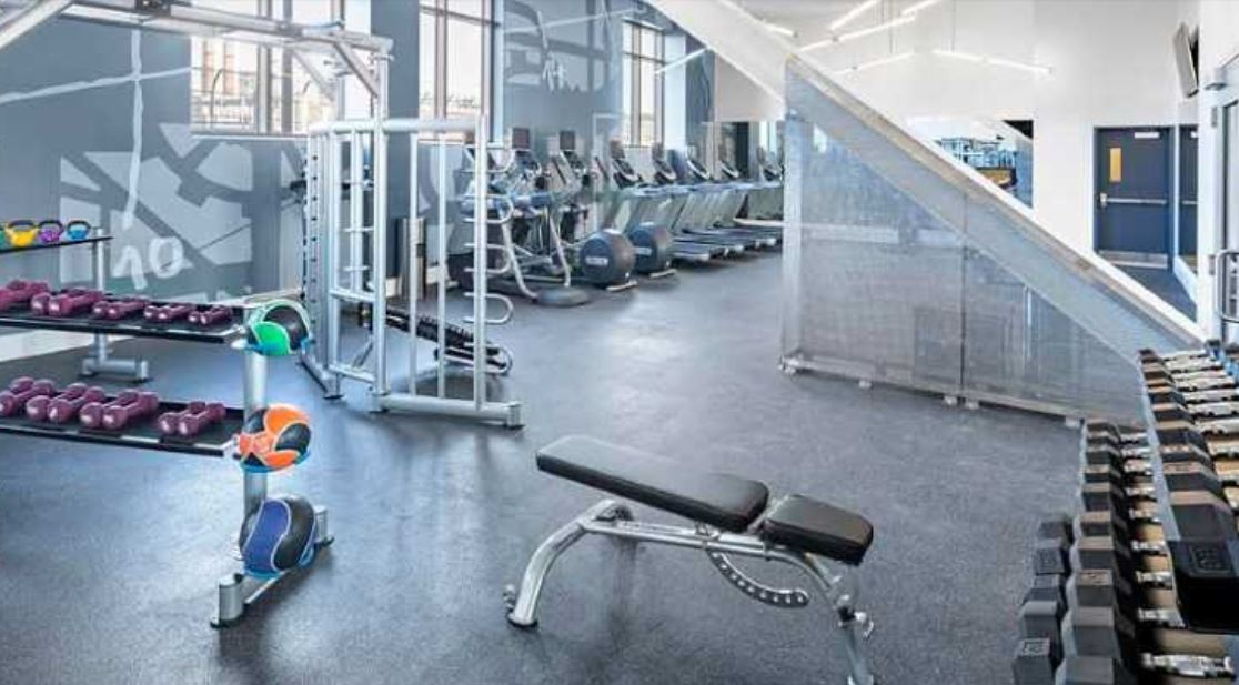 Gym at Ink Block Apartment - Citybase Apartments
