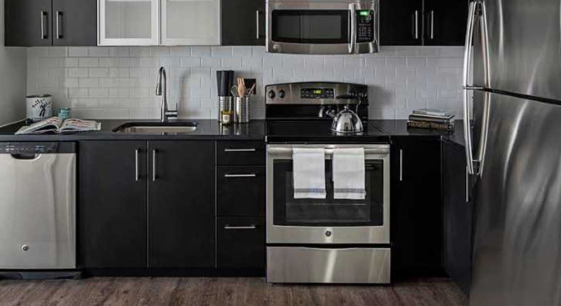 Oven at Ink Block Apartment - Citybase Apartments