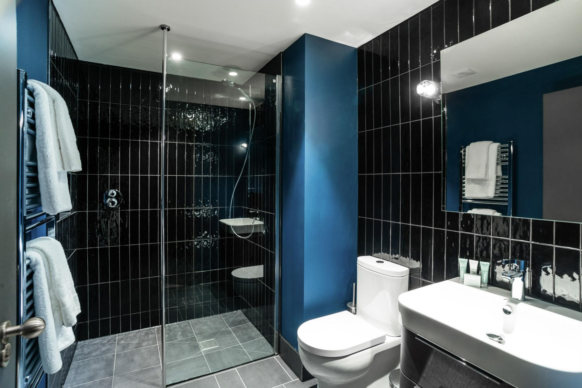 Bathroom at Native Manchester Apartments - Citybase Apartments
