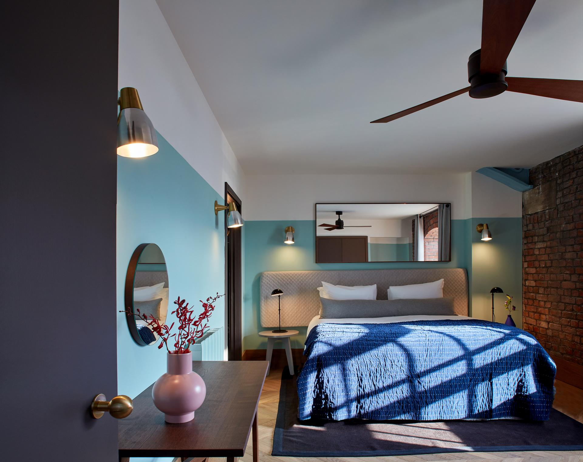 Bedroom at Native Manchester Apartments - Citybase Apartments