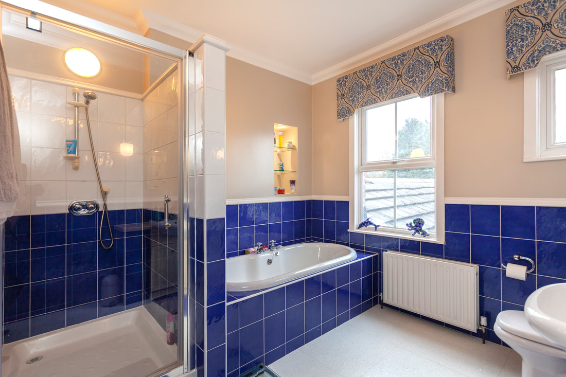 Bathroom at Trent Bridge House - Citybase Apartments