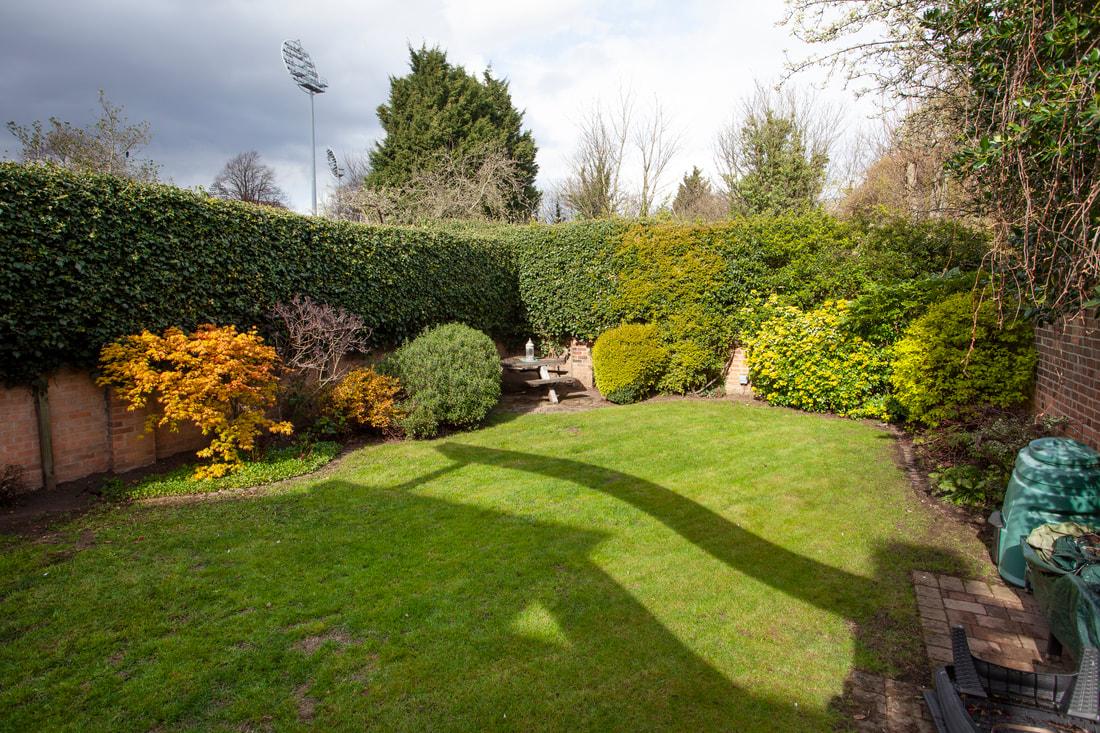 Garden at Trent Bridge House - Citybase Apartments