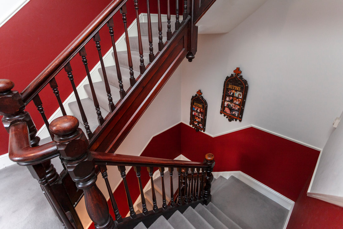Stairs at Trent Bridge House - Citybase Apartments