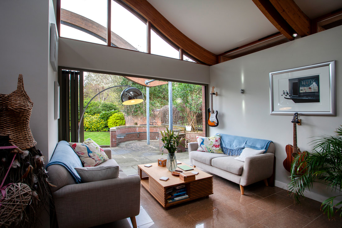 Sofa at Trent Bridge House - Citybase Apartments