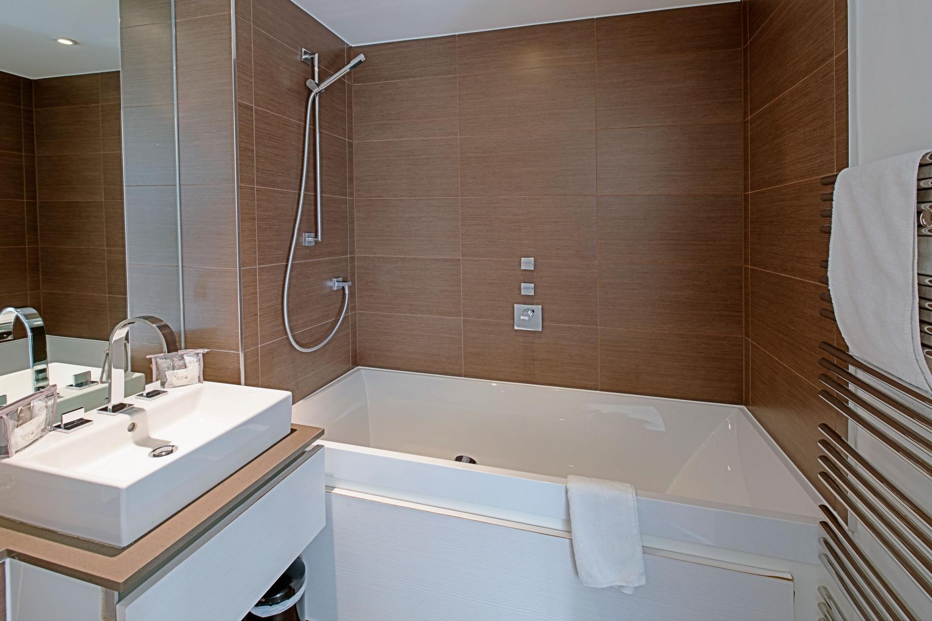 Bathroom at Gunwharf Quays Serviced Apartments - Citybase Apartments