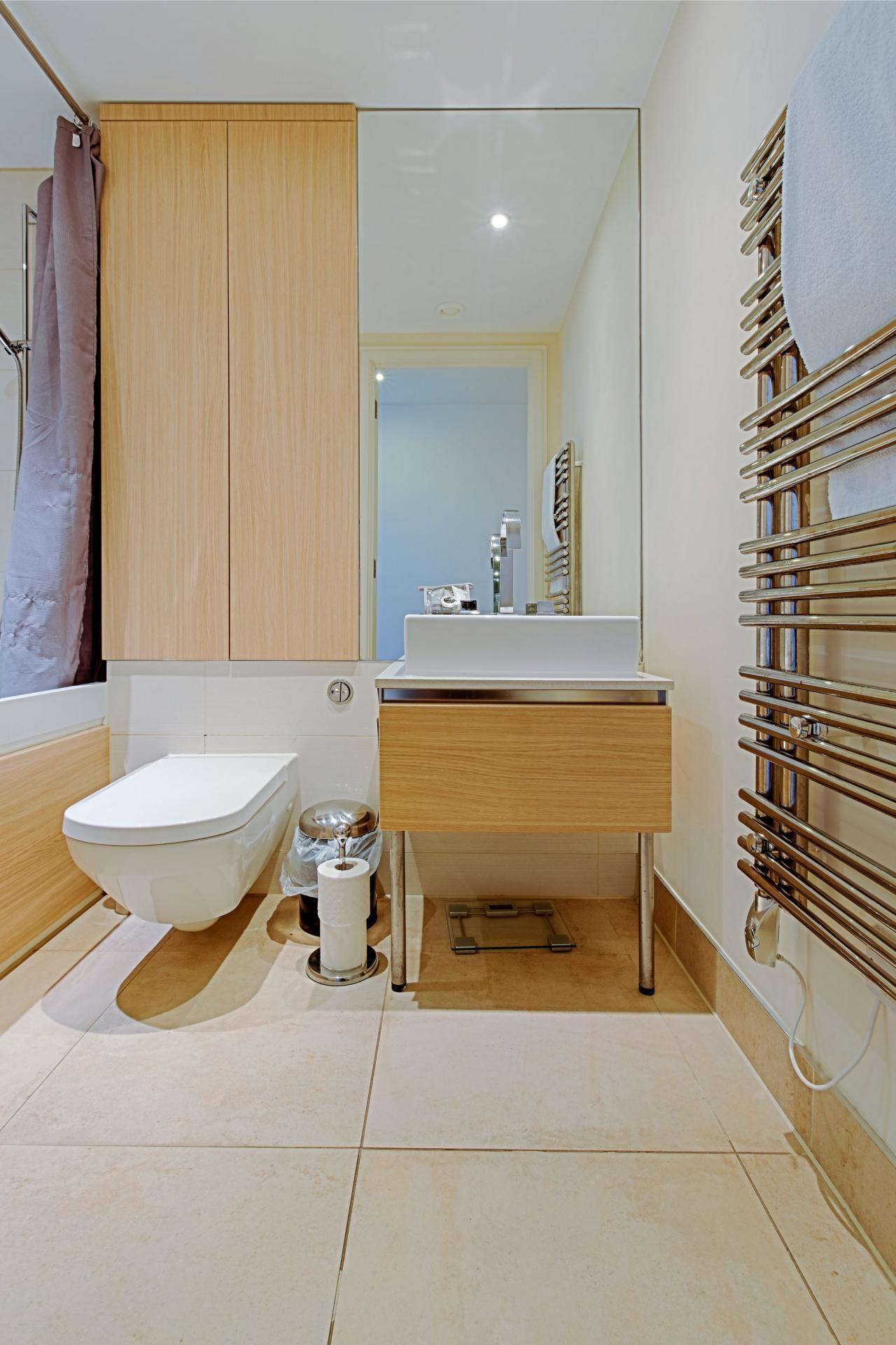 Sink at Gunwharf Quays Serviced Apartments - Citybase Apartments