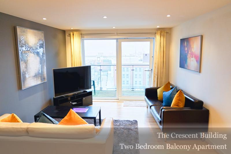 TV at Gunwharf Quays Serviced Apartments, Gunwharf Quays, Portsmouth - Citybase Apartments