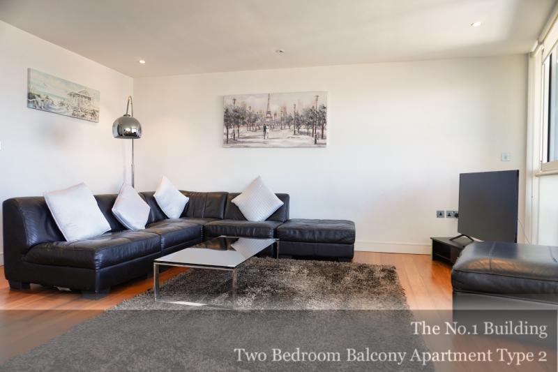 Corner Sofa at Gunwharf Quays Serviced Apartments, Gunwharf Quays, Portsmouth - Citybase Apartments