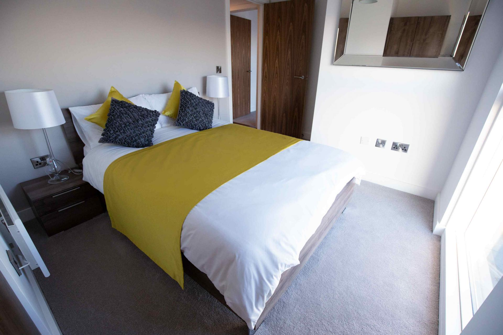 Bedroom at Manchester Greengate Apartments - Citybase Apartments