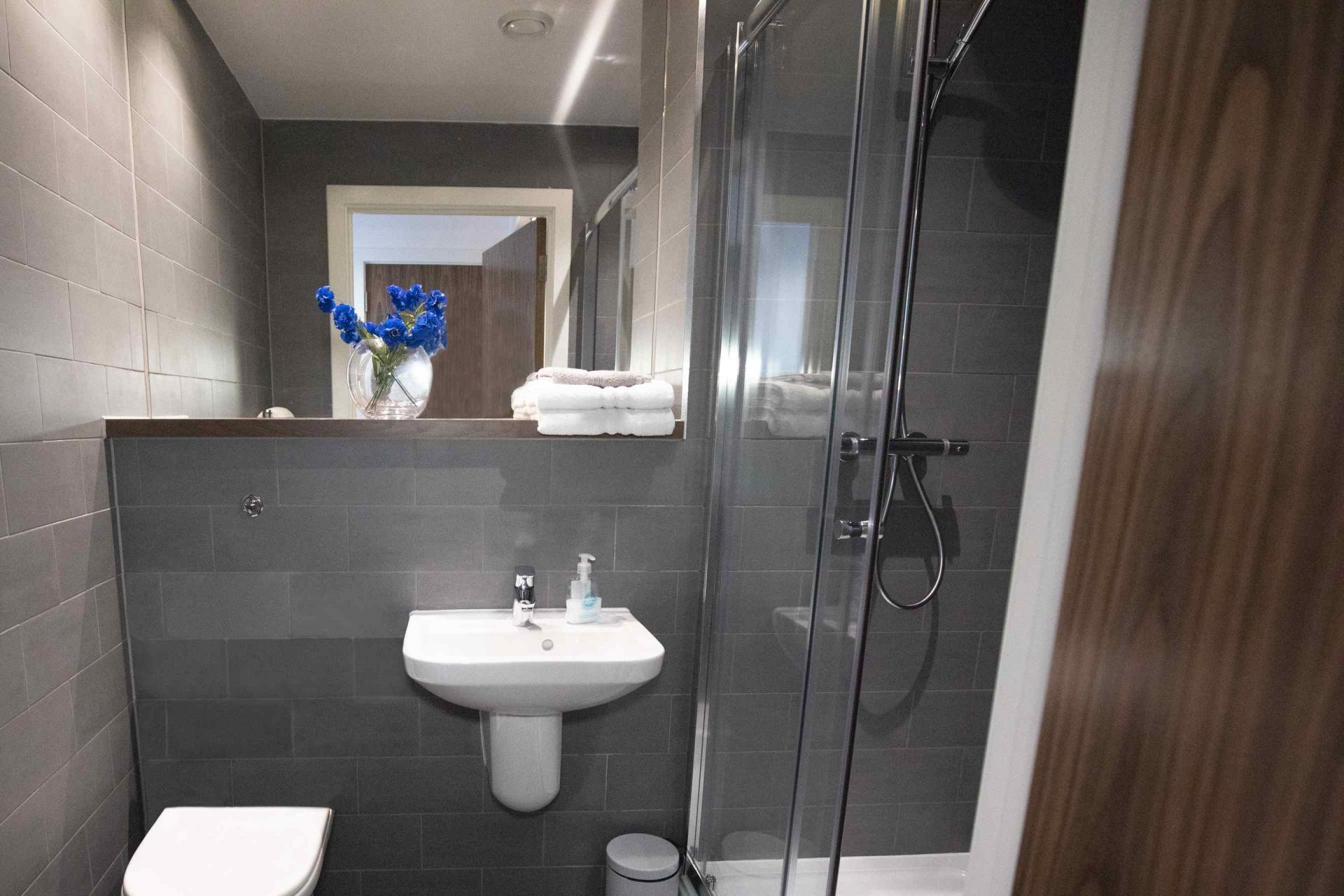 En suite at Manchester Greengate Apartments - Citybase Apartments