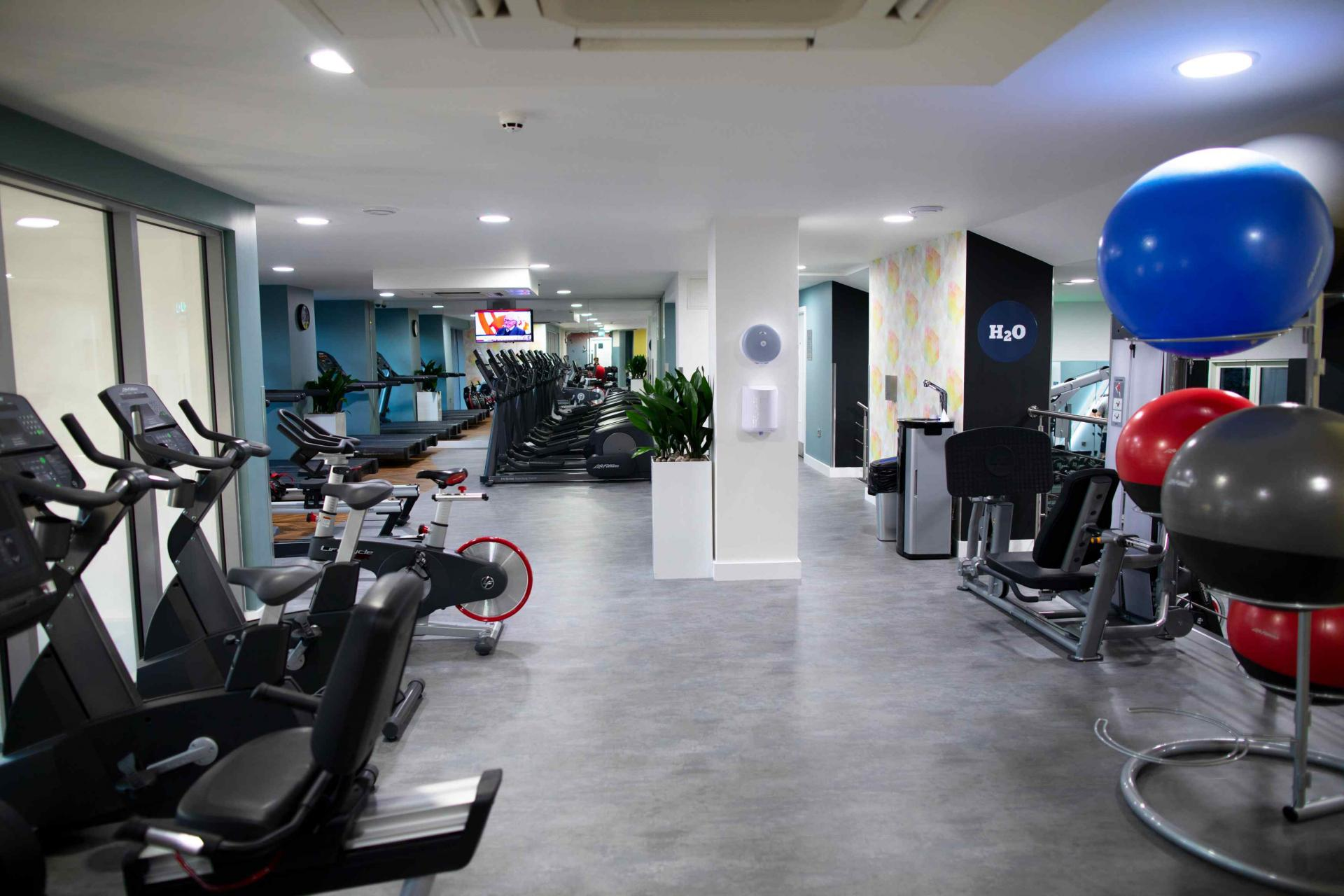 Gym at Manchester Greengate Apartments - Citybase Apartments