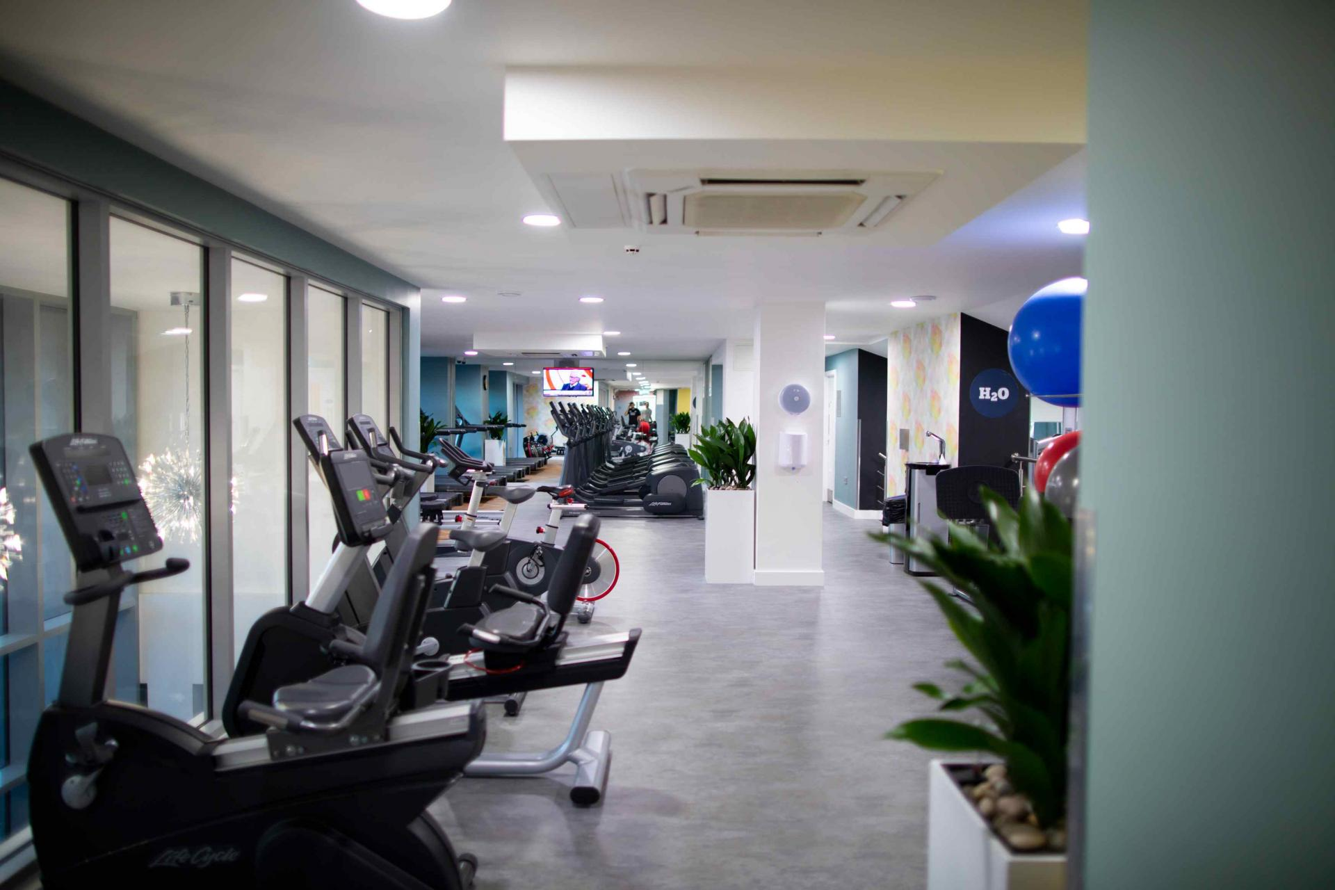 Fitness centre at Manchester Greengate Apartments - Citybase Apartments