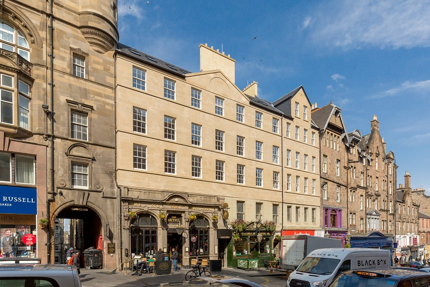 Exterior at Royal Mile Residence Apartments - Citybase Apartments
