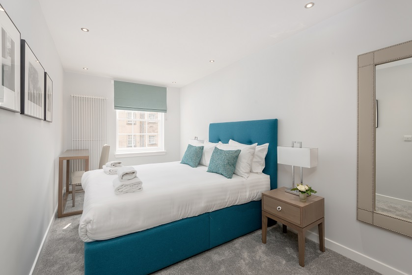 Bedroom at Royal Mile Residence Apartments - Citybase Apartments