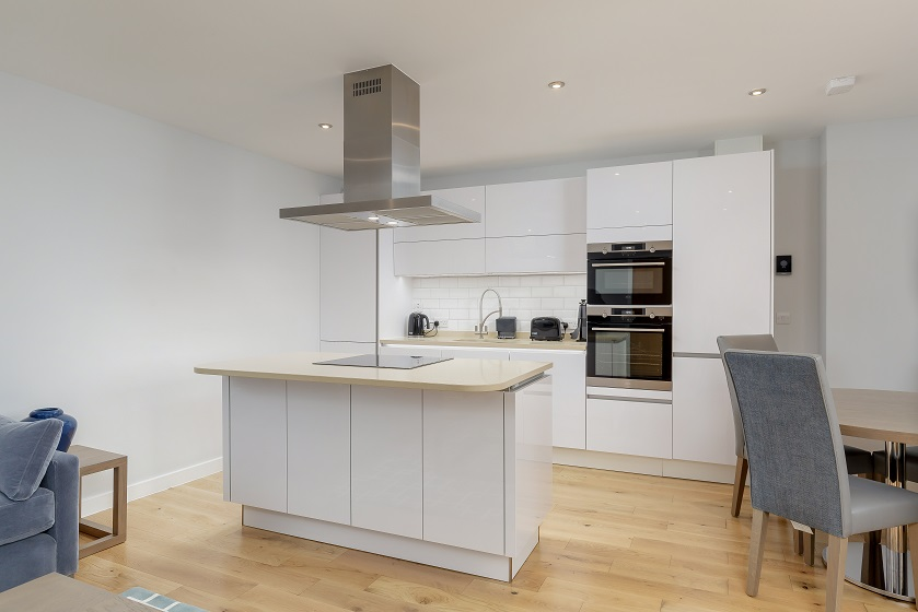 Kitchen at Royal Mile Residence Apartments - Citybase Apartments