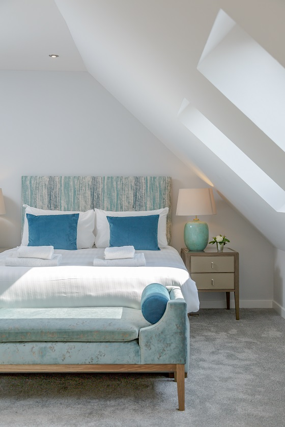 Cosy bed at Royal Mile Residence Apartments - Citybase Apartments