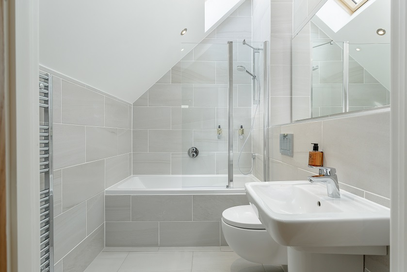 Bathroom at Royal Mile Residence Apartments - Citybase Apartments