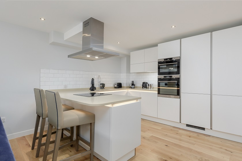 Stylish kitchen at Royal Mile Residence Apartments - Citybase Apartments