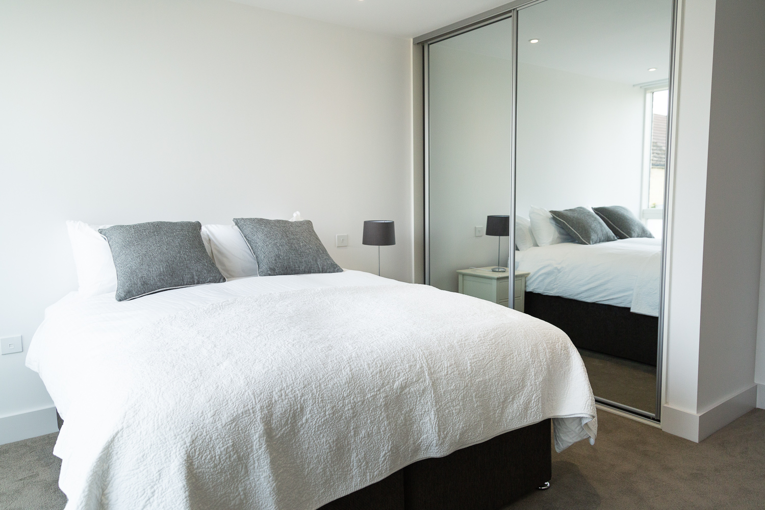 Bedroom at Park House Duplex Apartments - Citybase Apartments