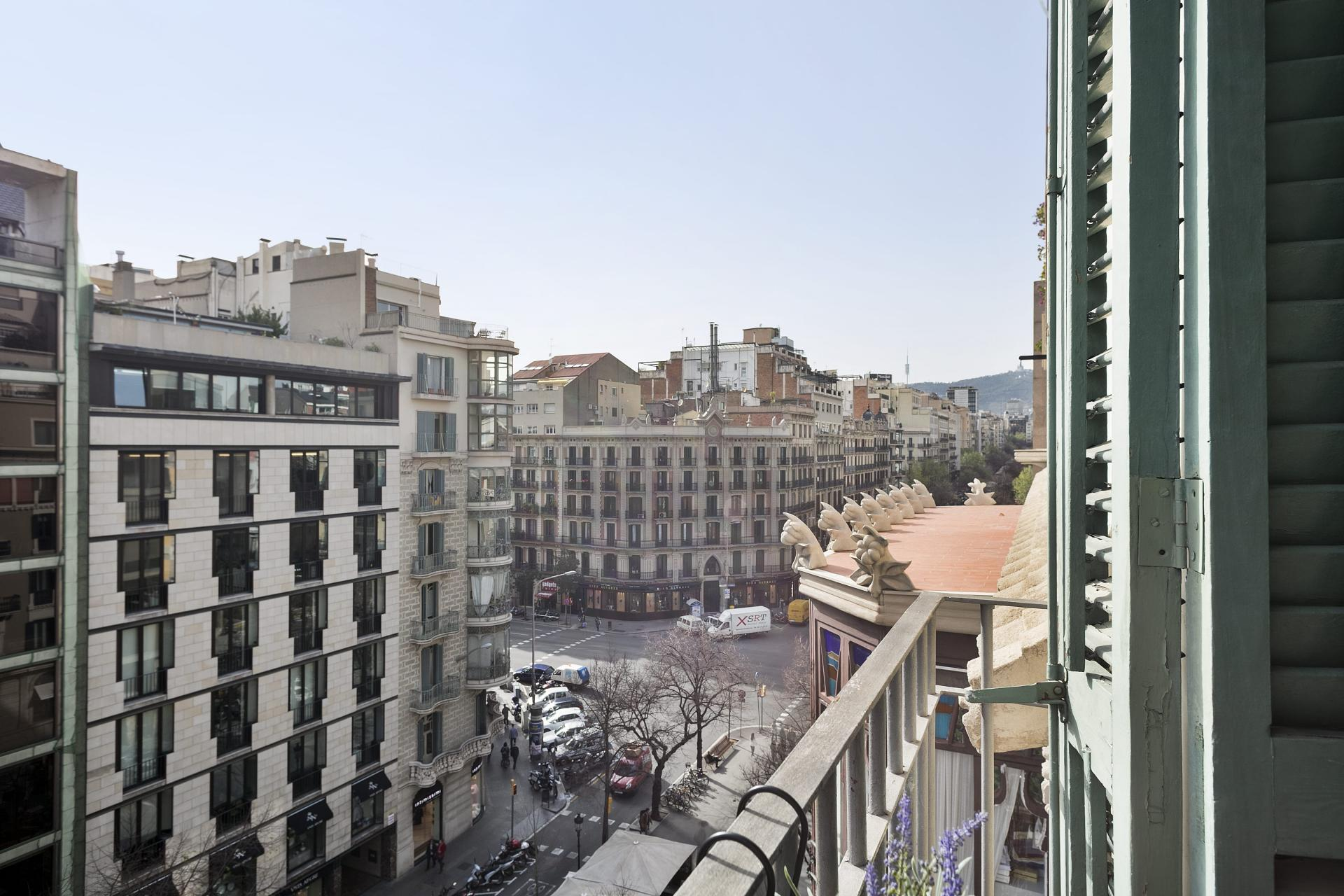 View from Sunny Serviced Apartments, Eixample, Barcelona - Citybase Apartments