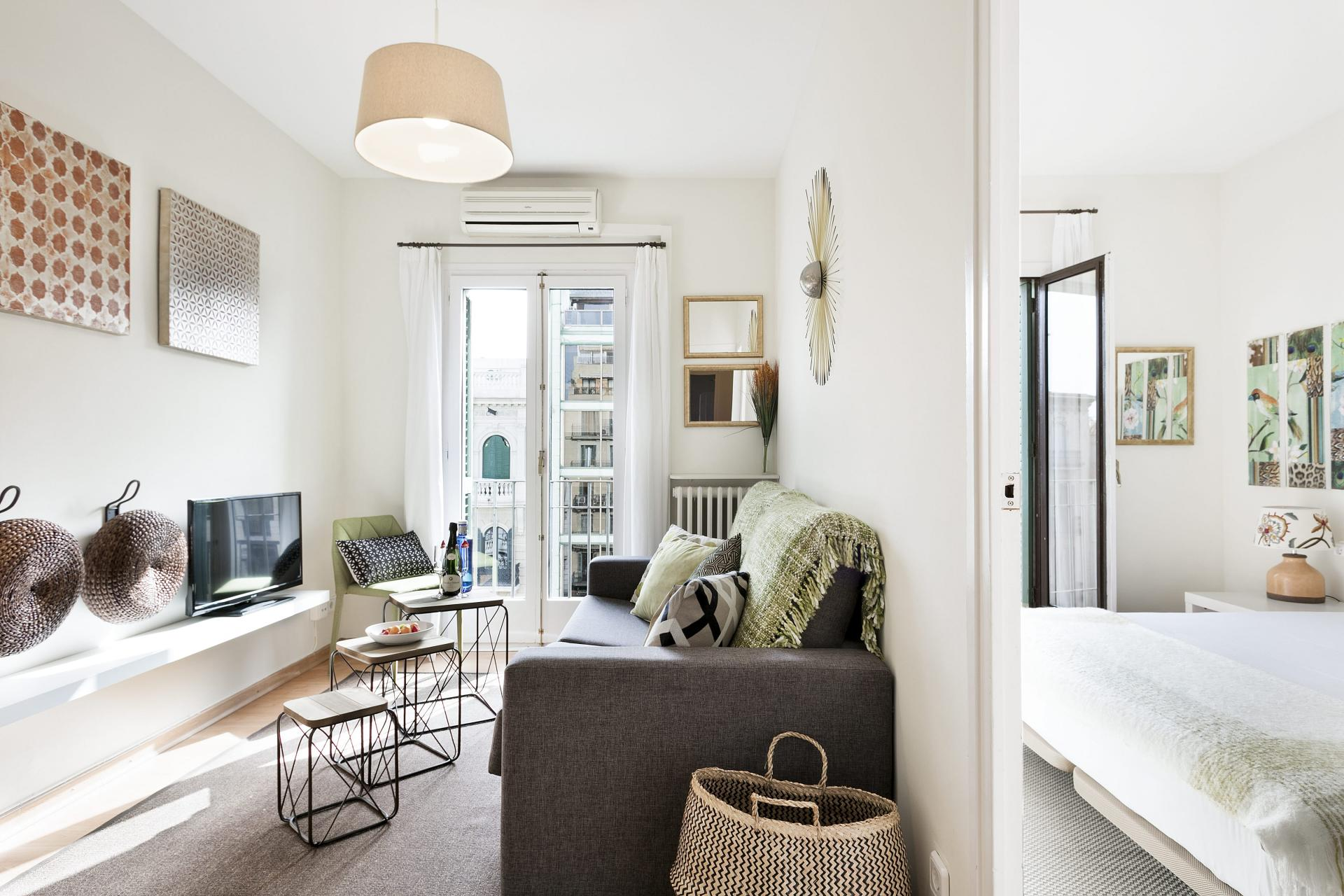 Layout at Sunny Serviced Apartments, Eixample, Barcelona - Citybase Apartments