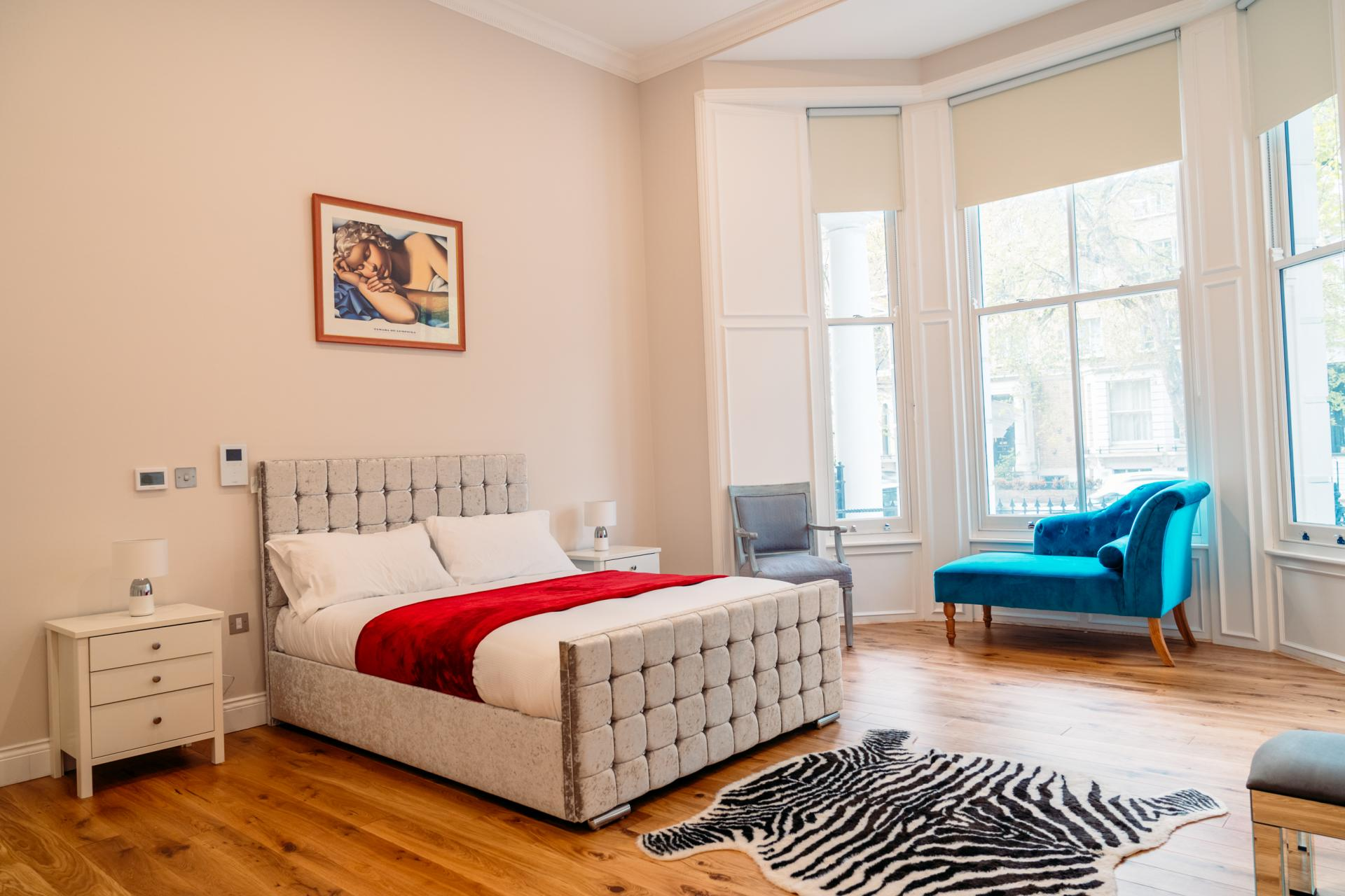 Bedroom at Cromwell Road Serviced Apartments - Citybase Apartments