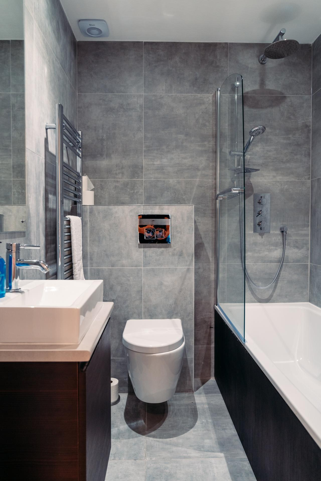 Bathroom at Cromwell Road Serviced Apartments - Citybase Apartments