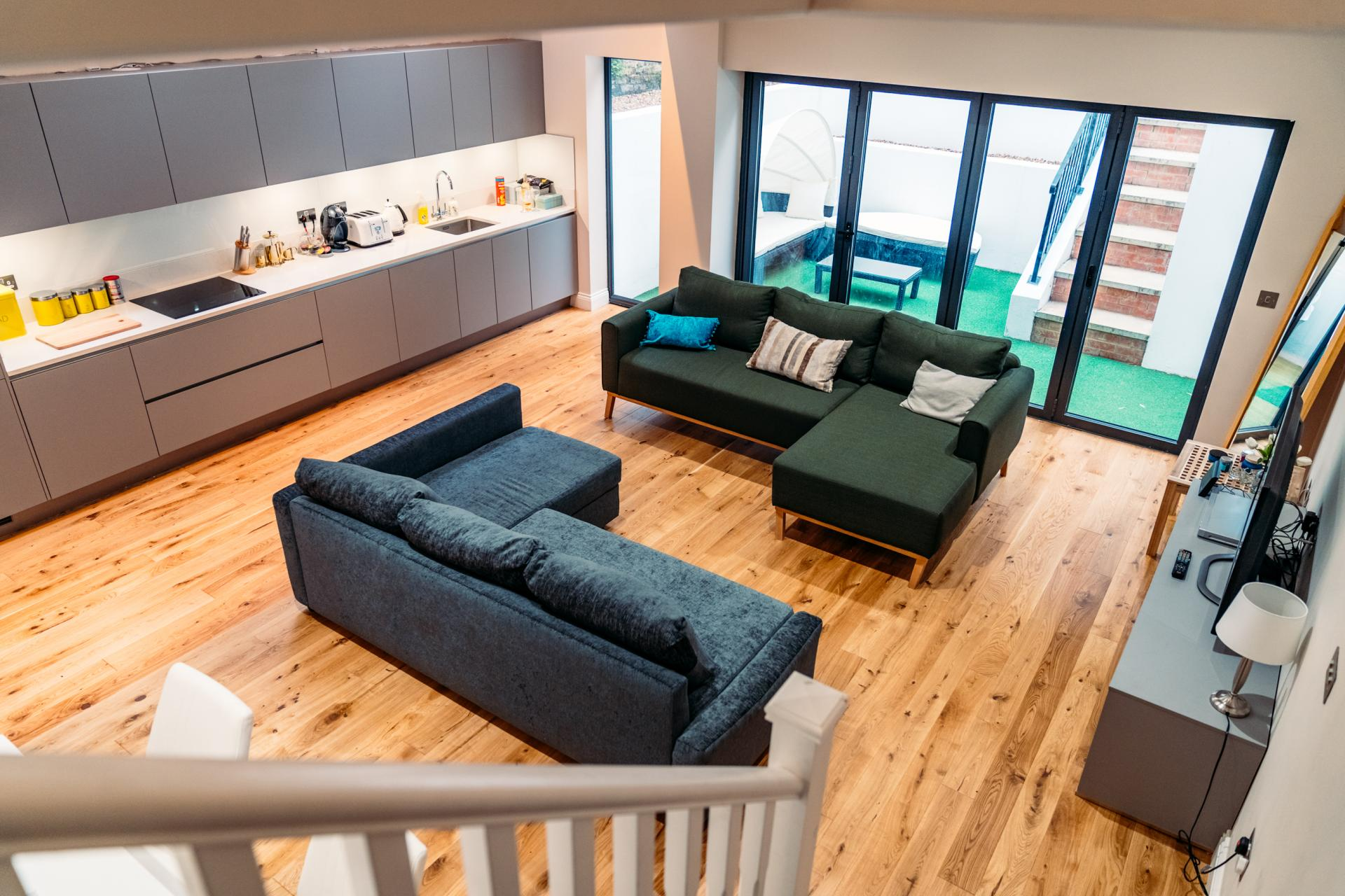 Sofa at Cromwell Road Serviced Apartments - Citybase Apartments