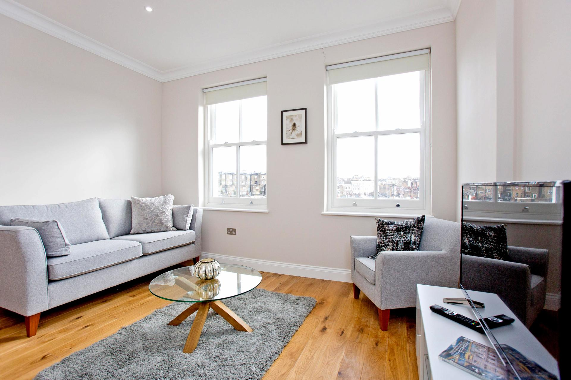 TV at Cromwell Road Serviced Apartments - Citybase Apartments
