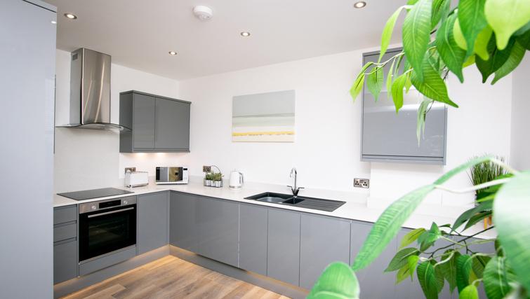 Kitchen at Rowan Tree Apartments - Citybase Apartments