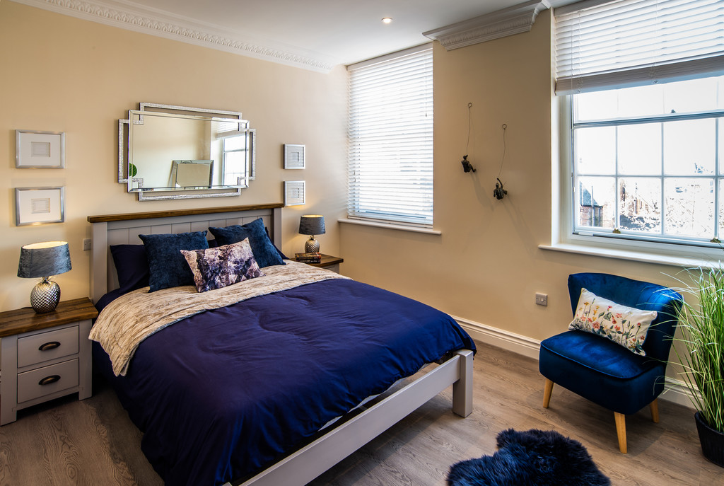 Bedroom at Juniper Court Apartments - Citybase Apartments
