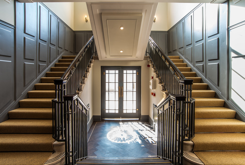 Hallway at Juniper Court Apartments - Citybase Apartments