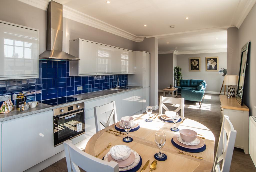 Kitchen at Juniper Court Apartments - Citybase Apartments